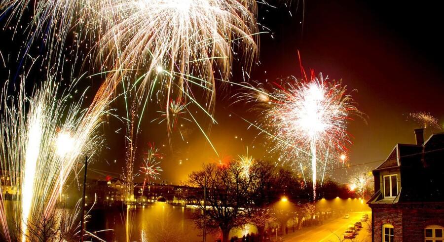 Fra i dag må danskerne tænde op for fyrværkeriet indtil den 1. januar. Foto: Bax Lindhardt