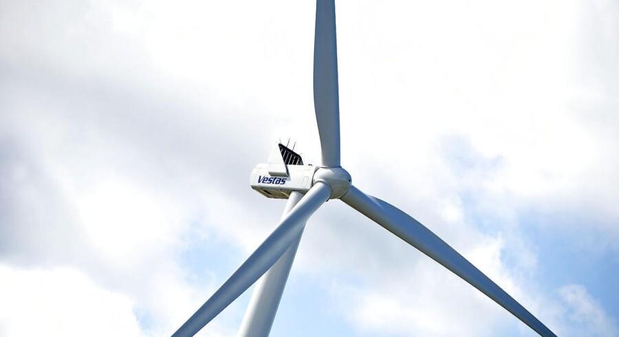 Arkivfoto: Vestas vindmølle i Østerild.