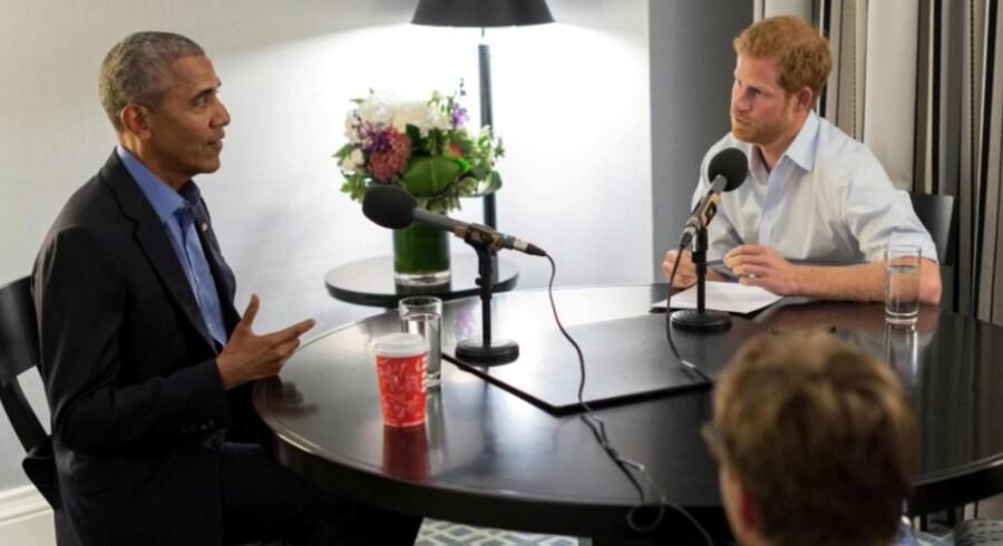 - Jeg savner selve arbejdet, fordi det var fascinerende, siger USA's tidligere præsident Barack Obama i et interview til prins Harry og fremhæver sundhedsreformen som det vigtigste politiske resultat, han opnåede som præsident. Reuters/Handout