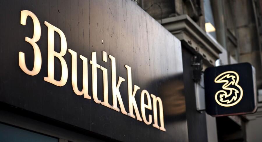 De danske teleselskaber har fortsat gang i en intens konkurrence. Alligevel har selskabet 3 øget omsætningen.