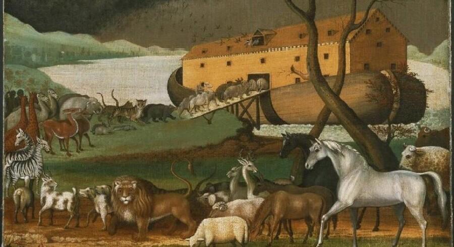 Noas Ark, maleri af Edward Hicks, 1846