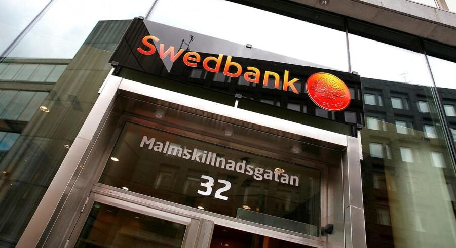 Det går godt for svenske Swedbank.