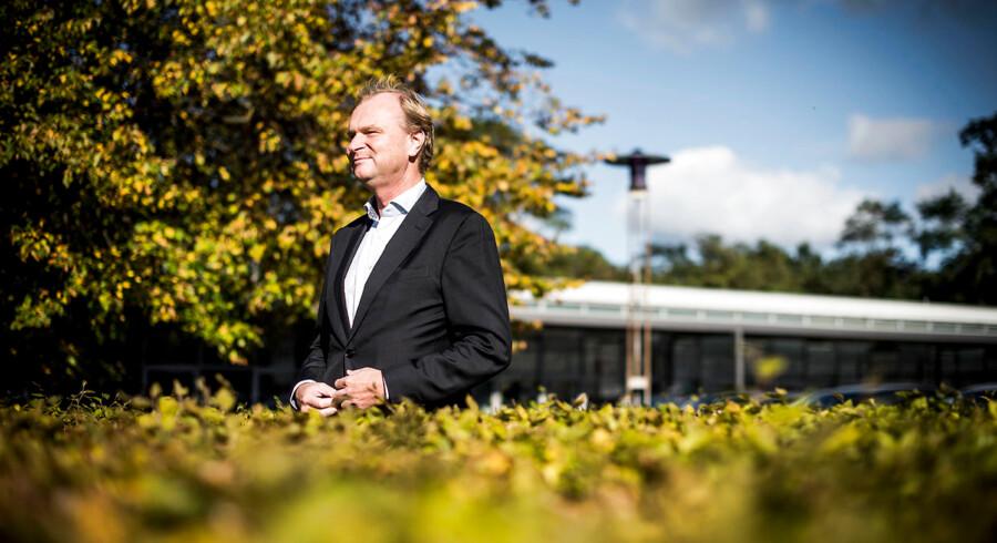 Portræt af Coops formand, Lasse Bolander. Krisen har aldrig været større i Coop. Det er trist, lyder det fra flere brugsforeninger.