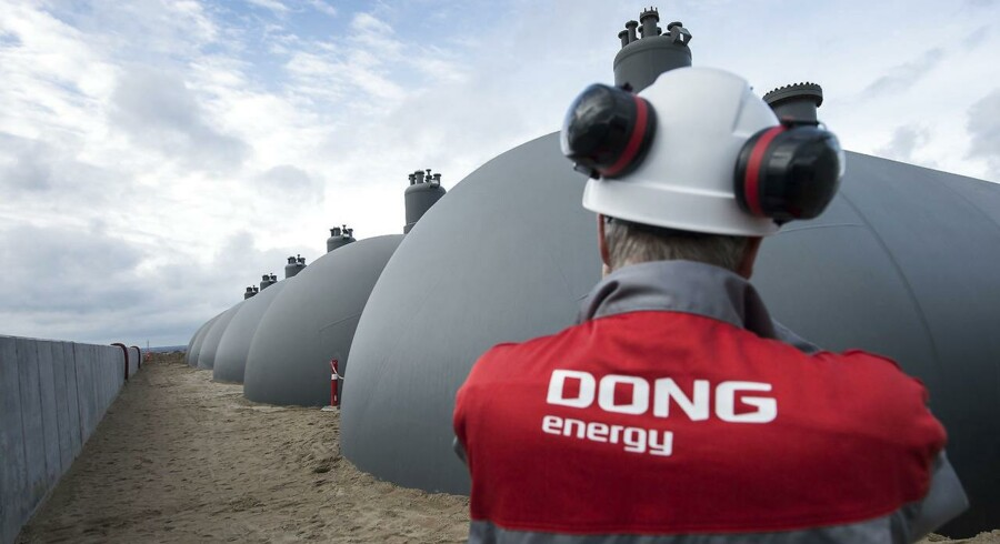 ARKIVFOTO 2010 af DONG Energy i Fredericia. (Foto: Claus Fisker/Scanpix 2016)