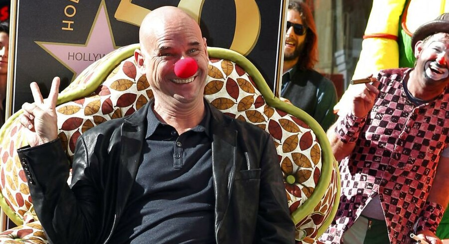 Guy Laliberté, da han i 2010 fik sin stjerne i Hollywoods Walk of fame.
