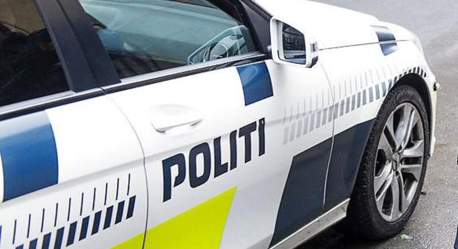 Tre teenagere er grebet på fersk gerning under et indbrud i en dagligvareforretning i Haderslev. Arkivbillede.