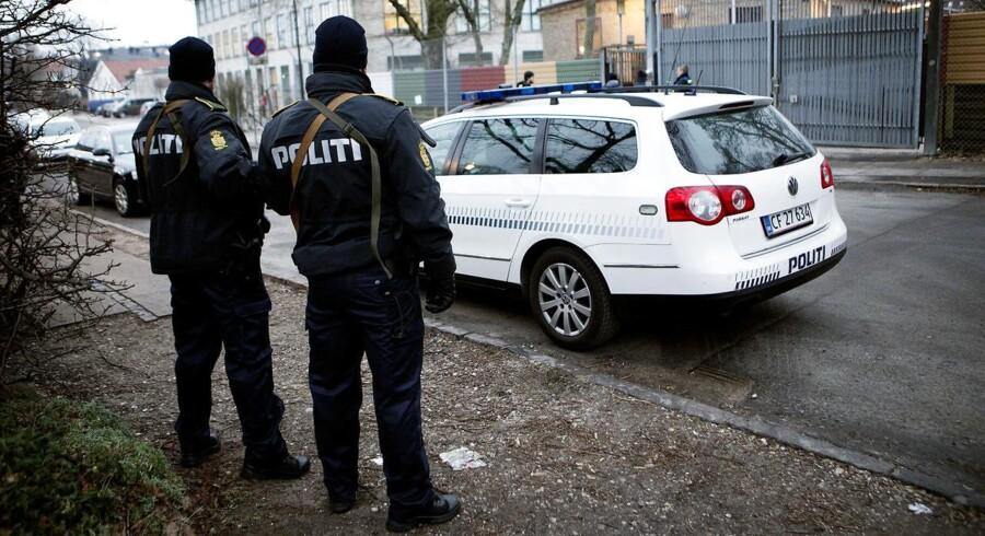Arkivfoto: 12 danske betjente har mistet livet siden besættelsen.