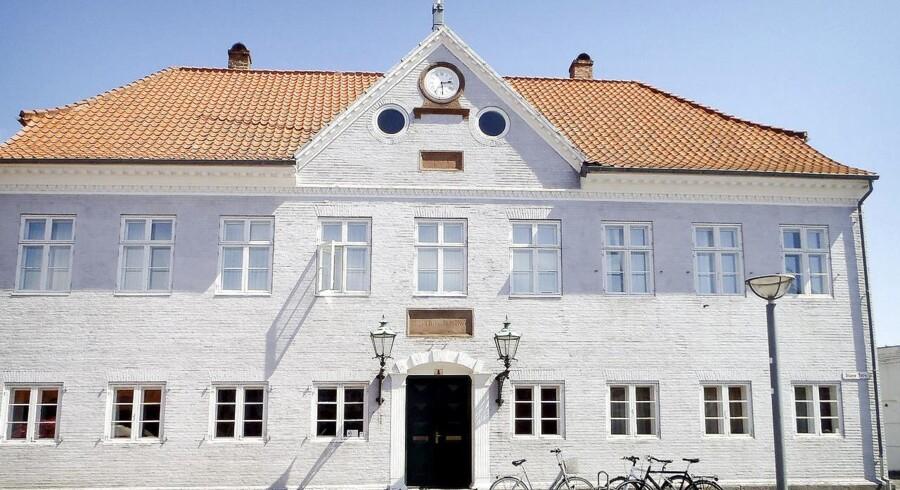 Arkivfoto af retten på Bornholm.