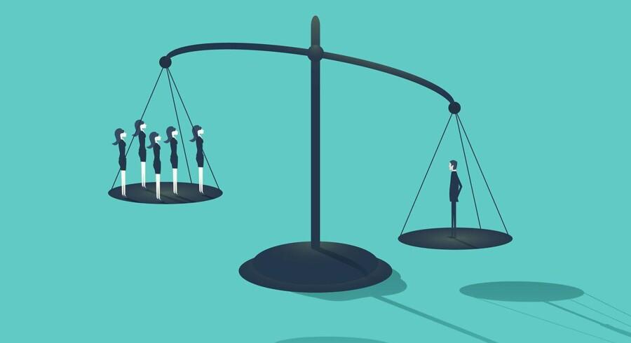 Danmark bevæger sig ganske langsomt nedad listen for de mest lige lande i OECD-samarbejdet. Indenrigs- og Økonomiminister Simon Emil Amnitzbøl (LA) ser det som et positivt tegn på, at Socialdemokratiet, da de var i regeringen, satte vækst og velstand højere en lighed.