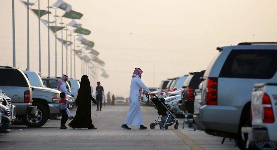 Saudi-Arabien har indledt retssagen mod tre mænd, der mistænkes for at have skudt en dansker i landets hovedstad Riyadh i 2014. Foto: Amel Pain