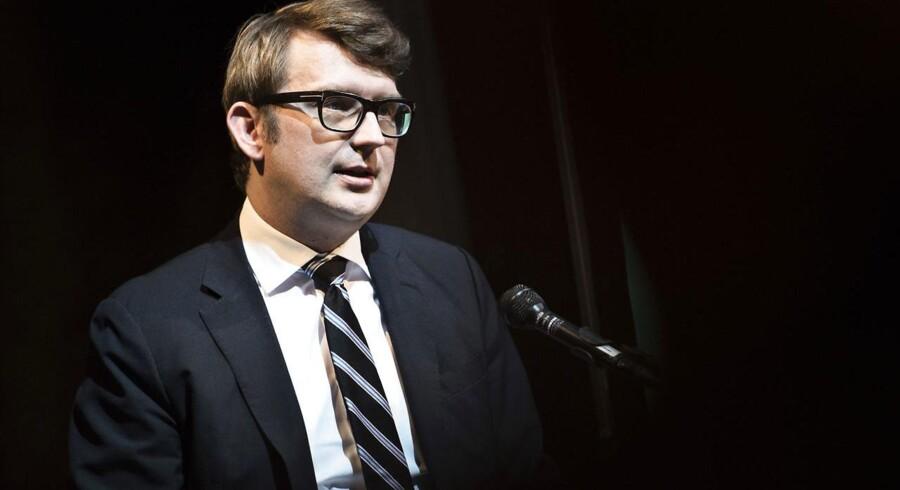 Beskæftigelsesminister Troels Lund Poulsen. (Foto: Mathias Løvgreen Bojesen/Scanpix 2017)