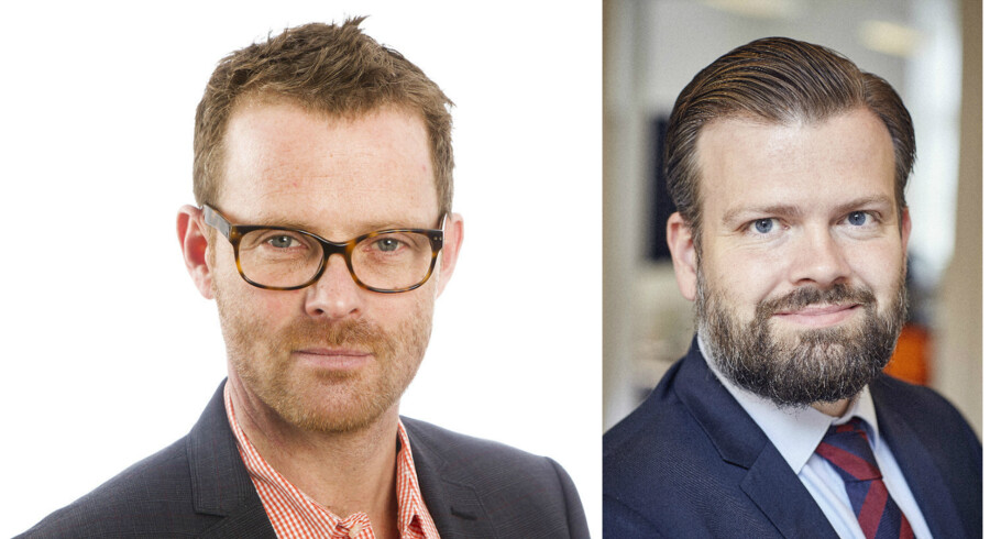 Kresten Schultz Jørgensen og Alan Malligsen.