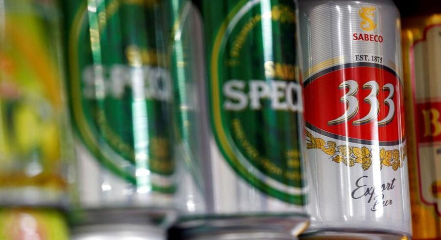 Arkivfoto: Thai Beverage har gennem en vietnamesisk partner købt en majoritetspost i Vietnams største bryggeri, Sabeco.