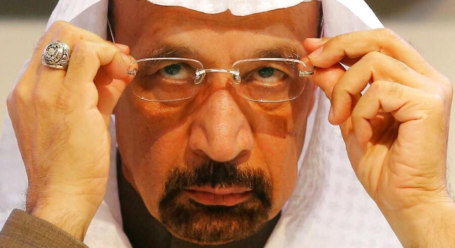 Arkivfoto. Saudi-Arabien vil sætte et loft for olieeksporten på 6,6 mio. tønder om dagen.