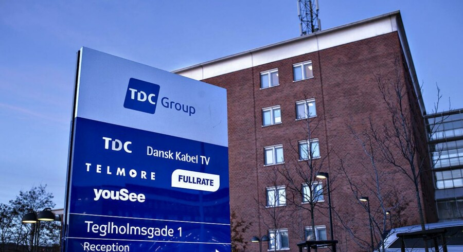 TDC og marketingsbureauet We Love Leads er begge blevet dømt i Københavns Byret for ulovligt telefonsalg. Arkivfoto: Ida Guldbæk Arentsen, Scanpix