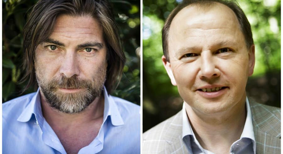 Morten Lund (foto: Thomas Lekfeldt) og Michael Moesgaard Andersen (foto: Benita Marcussen)