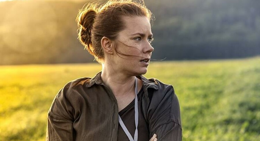 Amy Adams i Arrival - en af flere kvindelige helteroller i sidste års film.