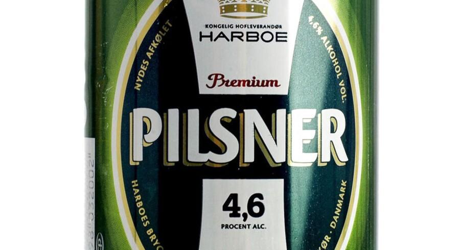 Øltest. Harboe Premium Pilsner.