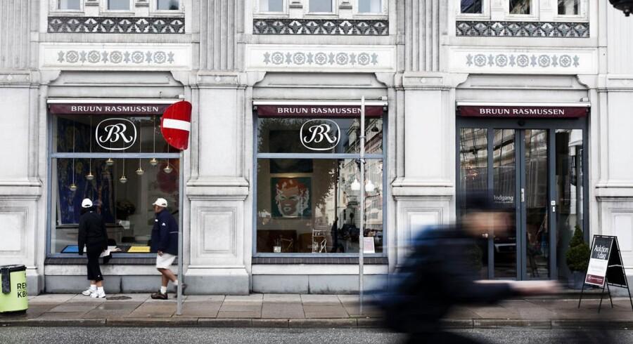 Bruun Rasmussen Auktionshus er kommet ovenpå igen efter finanskrisen. Arkivfoto: Katrine Emilie Andersen, Scanpix