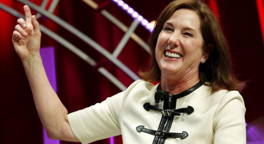 Som direktør for Lucasfilm, der står bag Star Wars-filmene, betragtes Kathleen Kennedy i dag som en af Hollywoods mest indflydelsesrige kvinder, hvad angår både kreativ og kommerciel formåen.