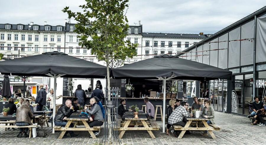ARKIVFOTO. Palæo i Torvehallerne i København er et af de spisesteder, der måtte indkassere en sur smiley under det seneste kontrolbesøg.