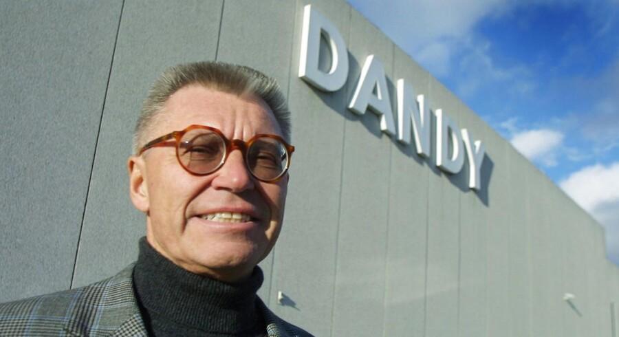 Holger Bagger-Sørensen fra dagene som adm. direktør i Dandy i starten af 00'erne