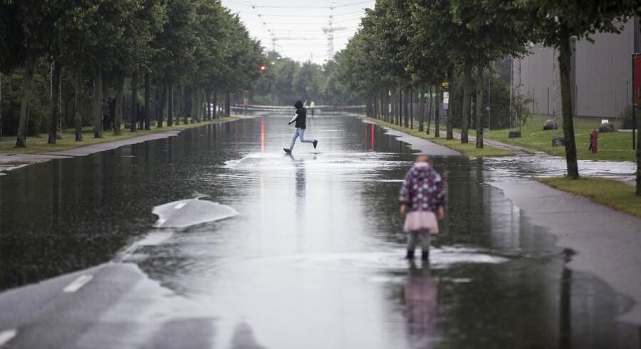 Sommerregn.