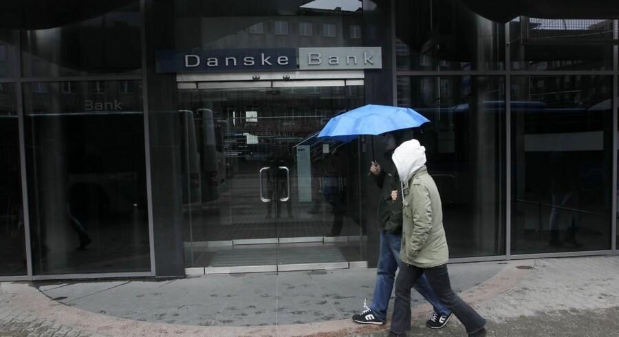 Danske banks bygning i Tallinn Estland.