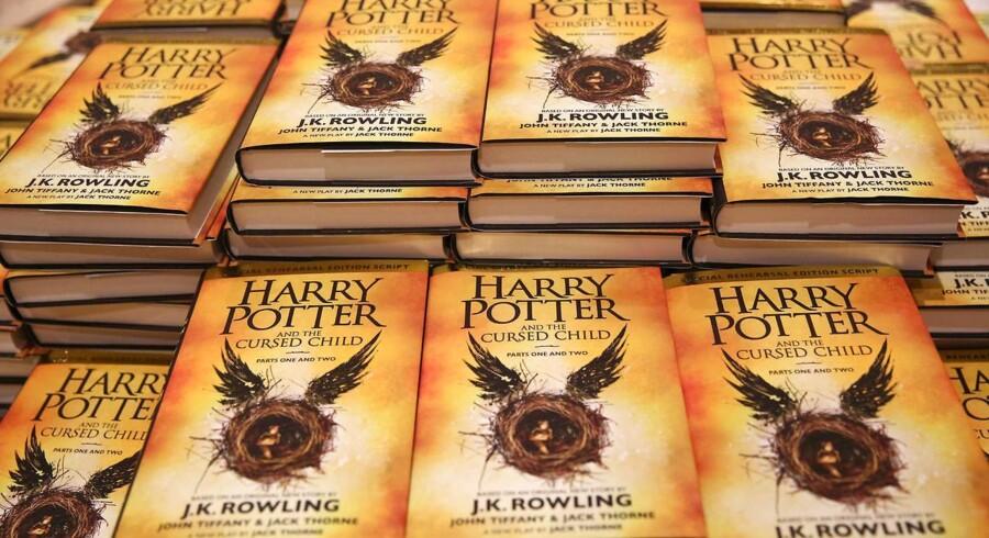Arkivfoto: Mange forfattere gennem tiden har fået afslag fra forlagene og siden opnået vewrdensberømmelse. J.K. Rowling fik nej så sent som for fire år siden.
