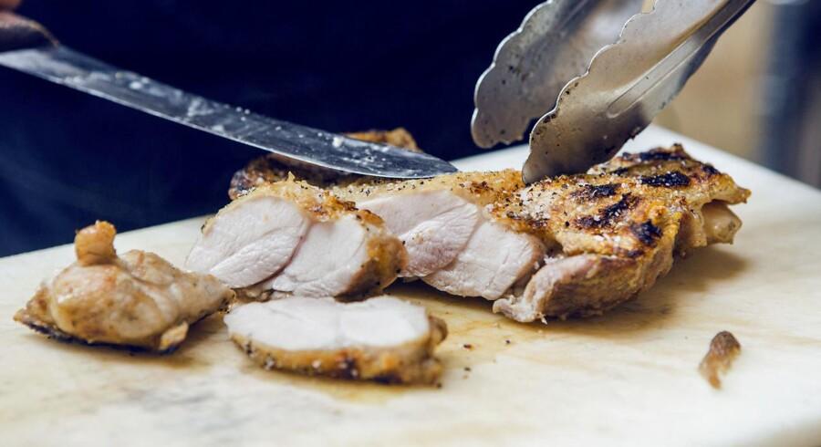EU-importeret kyllingekød har en hovedrolle i en igangværende momssag.