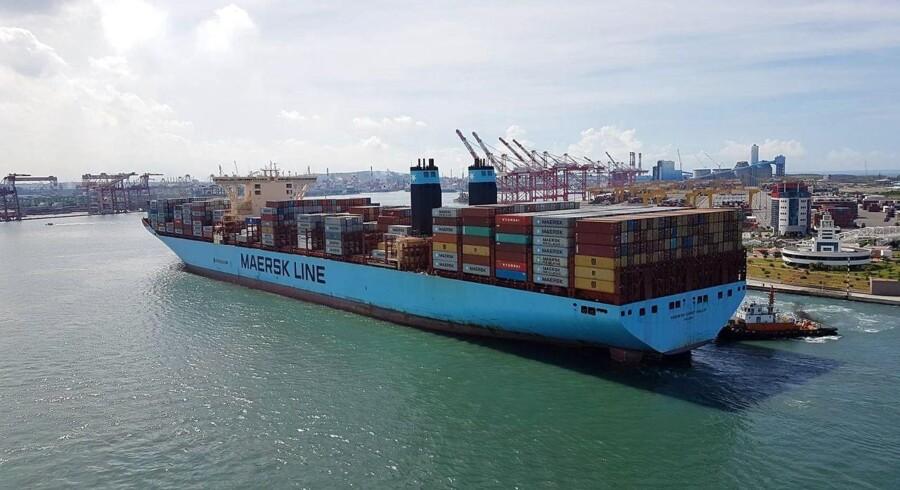 Arkivfoto: Mærsk klar til overraskende salg af havne