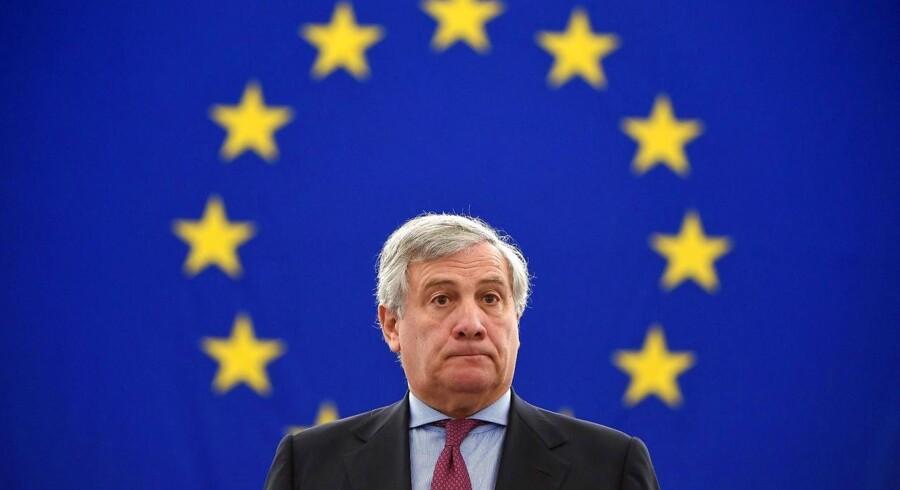 EU-Parlamentets vigtige menneskeretspris går til Den demokratiske opposition i Venezuela, meddeler formand.. / AFP PHOTO / PATRICK HERTZOG
