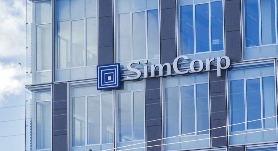 Forventningerne til USA og Canada vil være i centrum når it-selskabet Simcorp torsdag inviterer til kapitalmarkedsdag. Her er det SimCorps Hovedsæde.