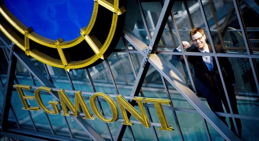 Arkivfoto: Egmont-koncernens omsætning var en lille smule lavere sidste år end i 2015. Trecifret millionresultat.