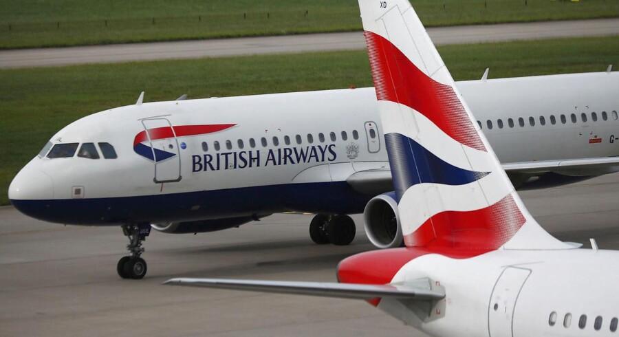Arkivfoto. En leverandør, som udførte vedligeholdelsesarbejde på et af British Airways' datacentre, lukkede for strømtilførslen og lammede dermed næsten hele det britiske luftfartsselskabs computersystem.
