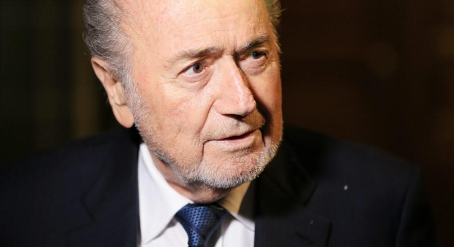 Sepp Blatter står over for nye anklager om korruption og bestikkelse. Reuters/Pierre Albouy