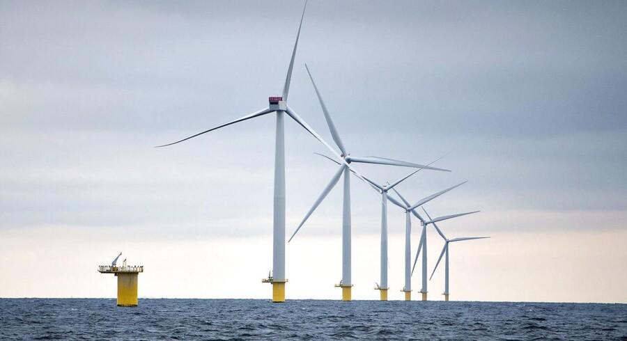 Arkivfoto: Vindmøller bliver rejst over hele Europa. Det betyder, at vindenergi efter 2016 er blevet Europas andenstørste energikilde, da vindmøller nu har slået kulkraftværker.