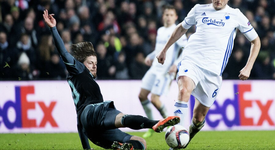 William Kvist og FC København må vente cirka fire måneder, før der igen står europæisk fodbold på programmet. Scanpix/Claus Bech