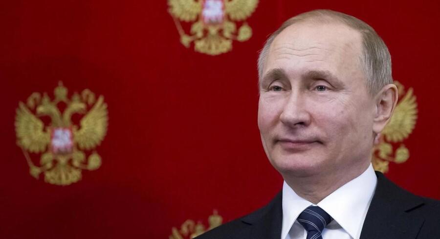 Ruslands præsident Vladimir Putin. REUTERS/Alexander Zemlianichenko/Pool