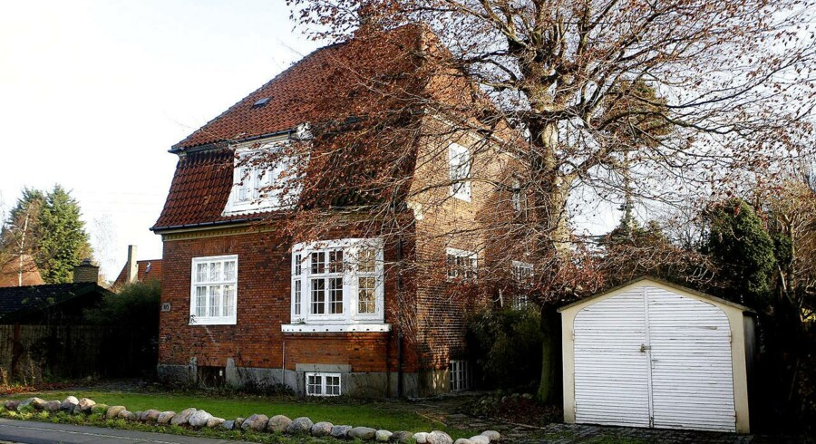 En villa på 140 kvadratmeter på Frederiksberg sælges i dag for mere end en million mere end i slutningen af 2013.