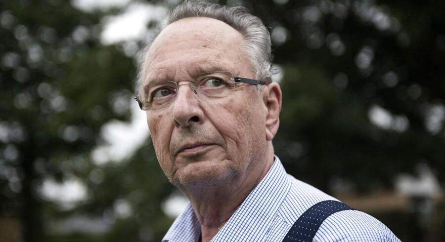 74-årige Uffe Eskildsen fik konstateret blærekræft for tre år siden. Han har været igennem fem operationer og har modtaget 37 strålebehandlinger. Han har oplevet utallige fejl undervejs, blandt andet forsvundne undersøgelser, uklar kommunikation og mangel på viden om bivirkninger. Foto: Malene Anthony Nielsen