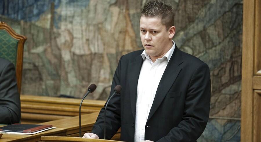 Dansk Folkepartis skatteordfører, Dennis Flydtkjær.