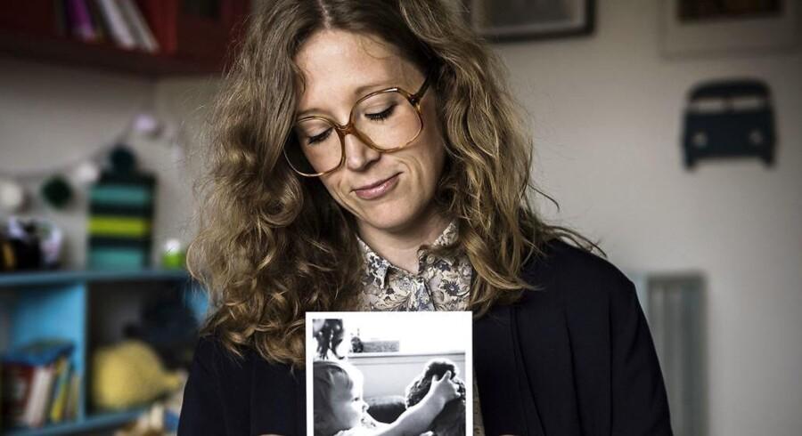 Astrid Maria Bigoni har skrevet speciale om mødre, der lægger billeder af deres børn online på Instagram.