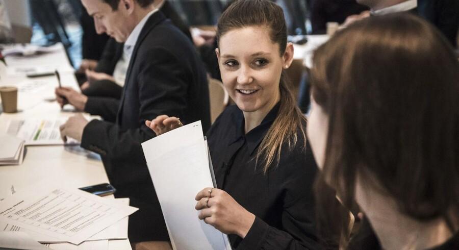 Sofie Henriksen var CEO for en dag hos Chr. Hansen