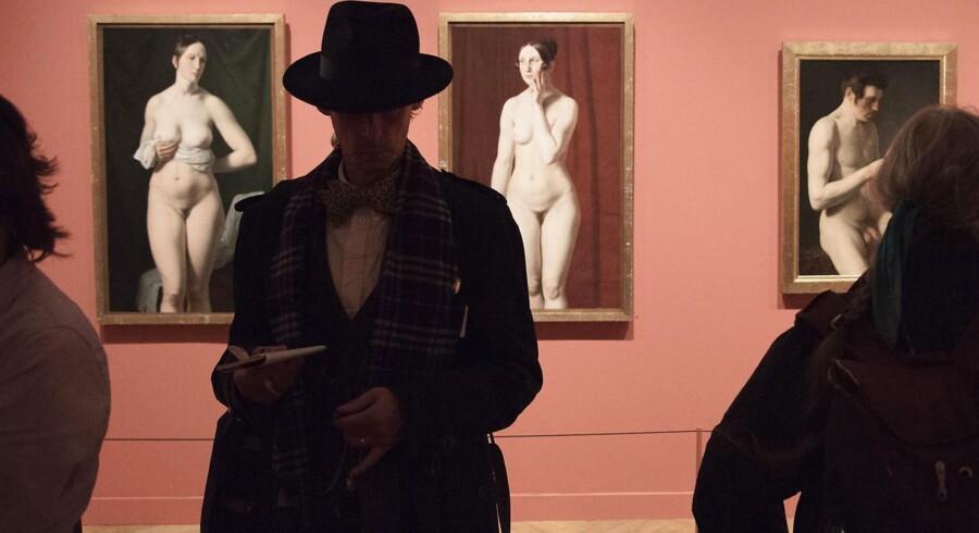 Museerne får stadigt bedre tag i danskerne. Her fra Eckersberg-udstilling på Statens Museum for Kunst, der kan ses halvanden uge frem.