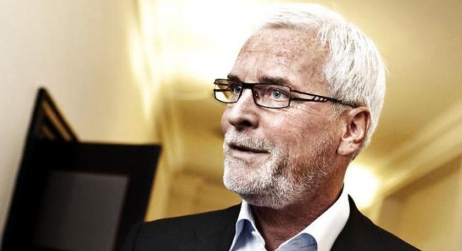 Anker Boye - har haft en pæn stor regning for brug af data på sin telefon. Foto: Jens Nørgaard Larsen