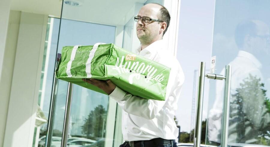 Administrerende direktør for Hungry.dk Rune Risom har valgt at kunne tage betaling i bitcoin, fordi han på den måde kan få købestærke kunder.
