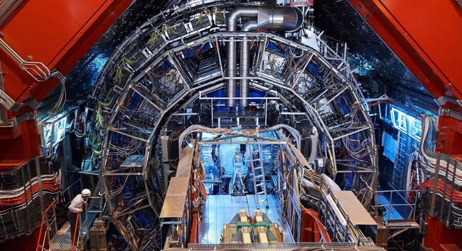 Arkivfotofra CERN 2013.