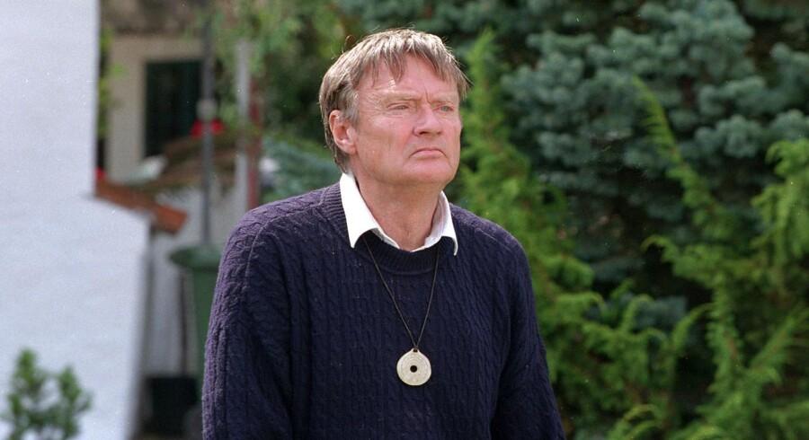 Instruktør Palle Kjærulff Schmidt, den 12. august 1998. En 60'erne og 70'ernes store filminstruktører er sovet ind efter kort tids sygdom. Det skriver Ritzau, onsdag den 14. marts 2018.. (Foto: SØREN STEFFEN/Scanpix 2018)