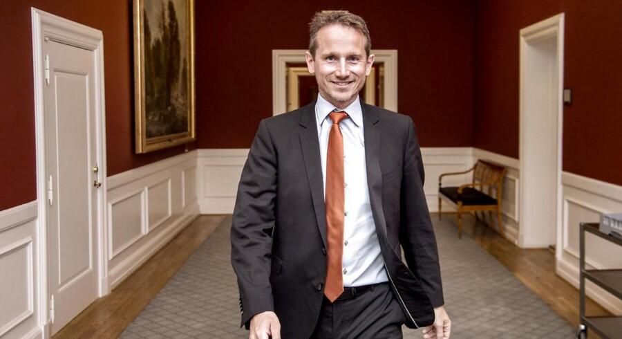 Arkiv: Finansminister Kristian Jensen (V).